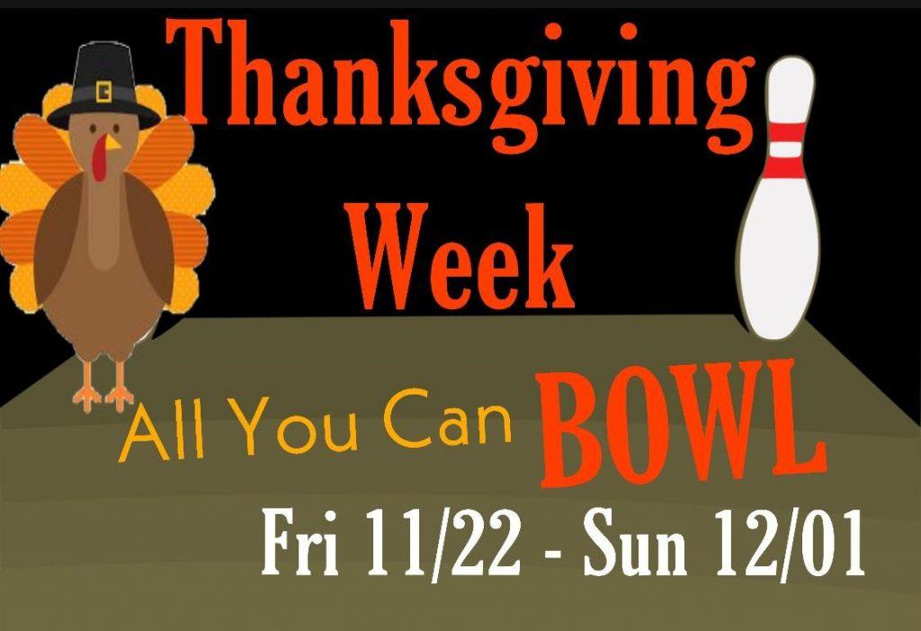 thanksgiving weekend flyer